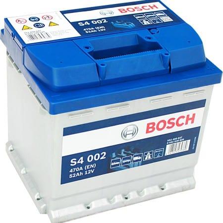 Akumulator Bosch s4 52ah Bydgoszcz