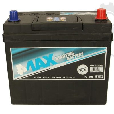 Akumulator 4MAX 0608-03-0004Q  45 Ah Akumulator 4MAX 45 Ah
