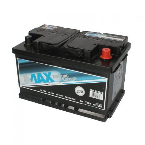 Akumulator 4MAX 0608-03-0007Q  75 Ah Akumulator 4MAX 75 Ah
