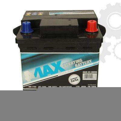 Akumulator 4MAX 0608-03-0009Q  40 Ah Akumulator 4MAX 40 Ah