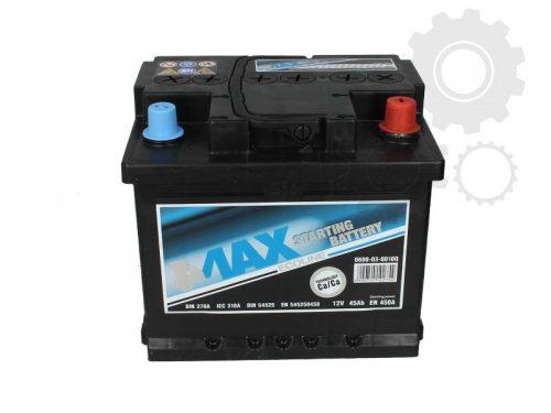 Akumulator 4MAX 0608-03-0010Q  45 Ah Akumulator 4MAX 45 Ah