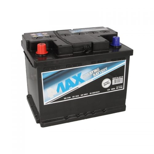 Akumulator 4MAX 0608-03-0011Q  60 Ah Akumulator 4MAX 60 Ah