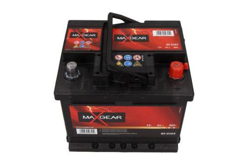 Akumulator MaxGear 85-0103  41 Ah