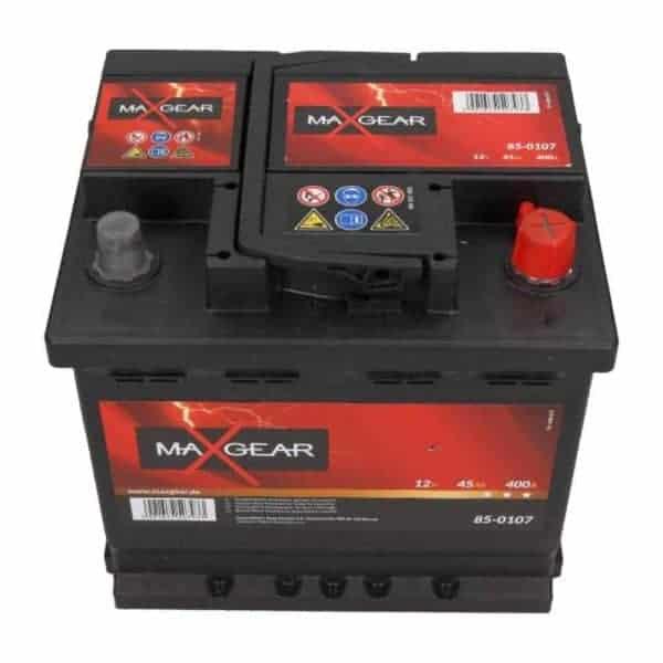 Akumulator MaxGear 45 Ah 400 A