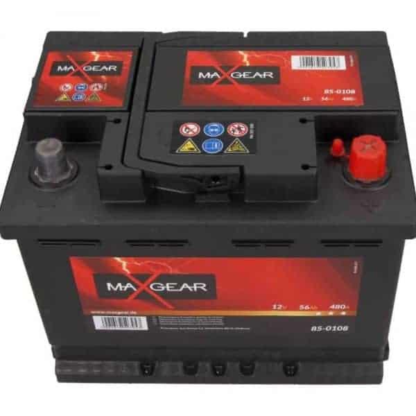 Akumulator MaxGear 56 Ah 480 A