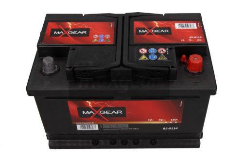 Akumulator MaxGear 85-0114  72 Ah