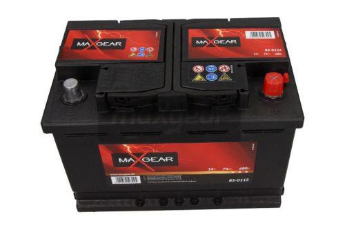 Akumulator MaxGear 85-0115  74 Ah