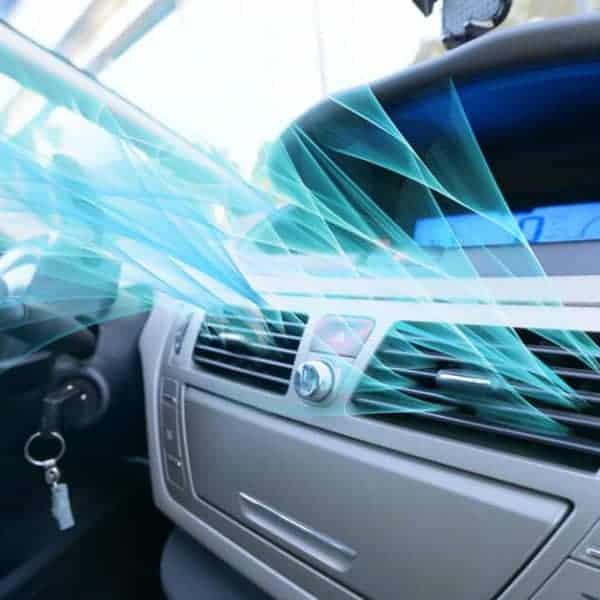 czyste powietrze w samochodzie dzięki ozonowaniu