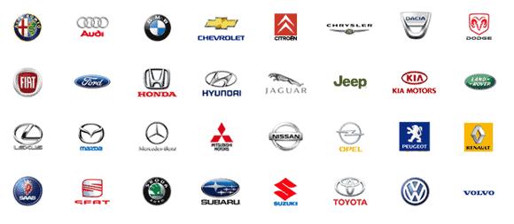 marki naprawianych samochodów